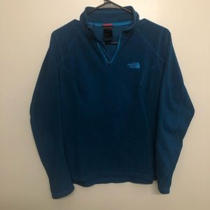 The North Face pullover fleece jacket quarter zip